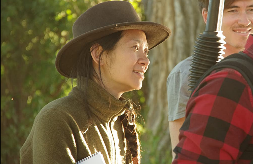 La directora Chloé Zhao. Foto: IMdb