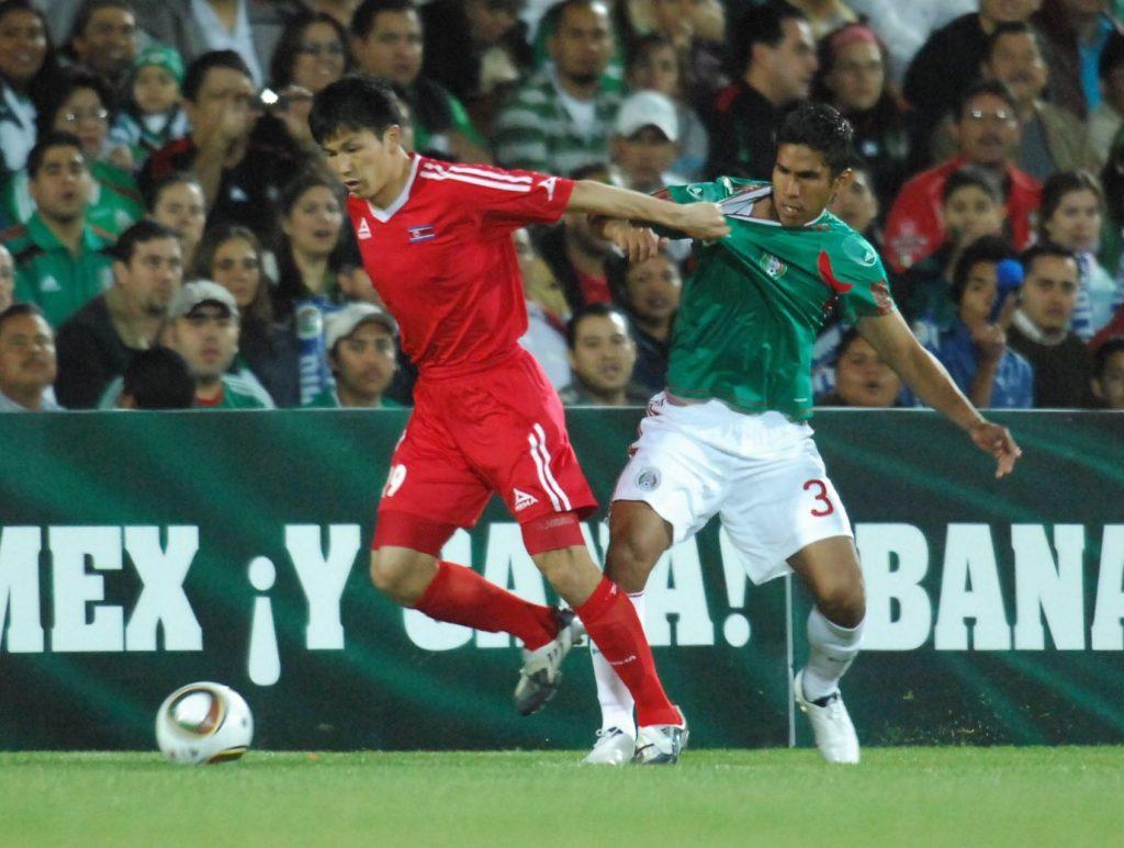 Foto del uniforme de la selección mexicana en 2010. Foto: Cuartoscuro