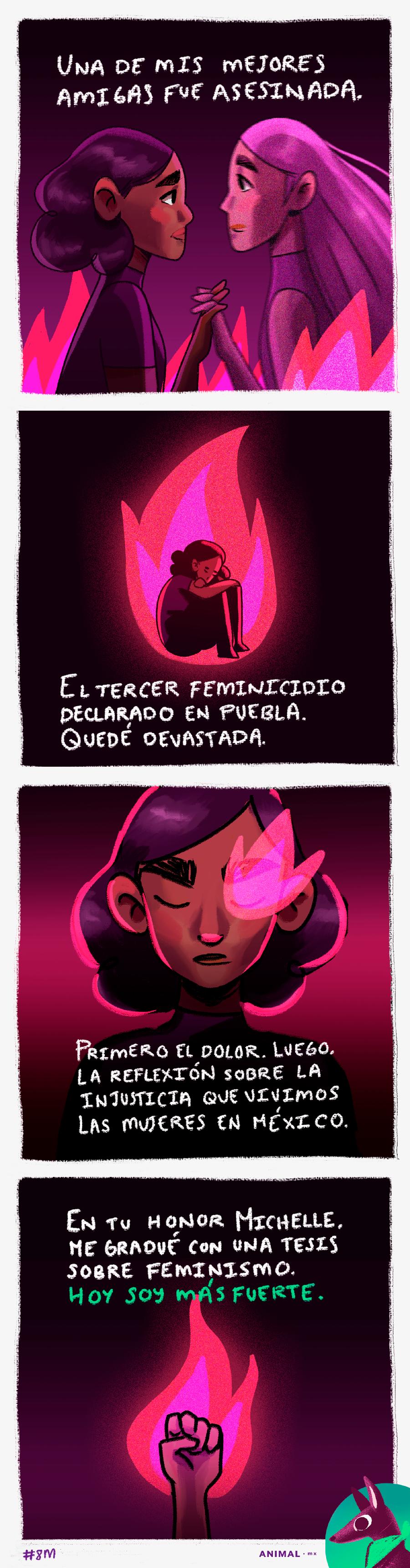 Testimonios mujeres: cómo llegó el feminismo a tu vida. Ilustración: @Driu_Paredes