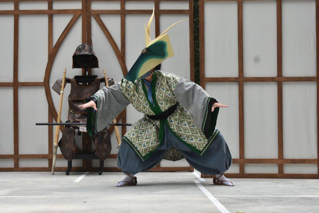 Katsumi y el Dragón es una obra de teatro que se presente en el Claustro del Centro Cultural Helénico. Foto: Helenico.gob.mx