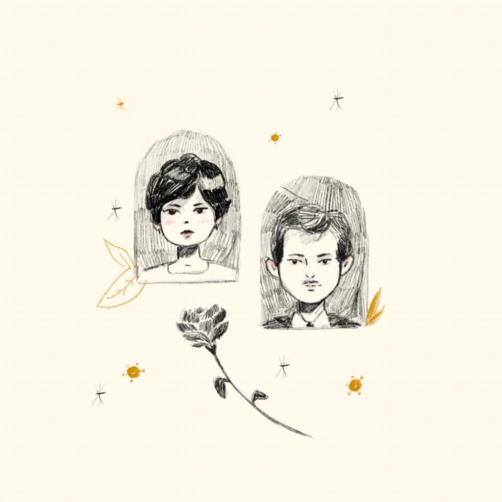 Sueños de pandemia: soñé con familiares muertos. Ilustraciones: Daniela Díaz (@_danichi) | Jesús Santamaría (@RE_Ilustrador)