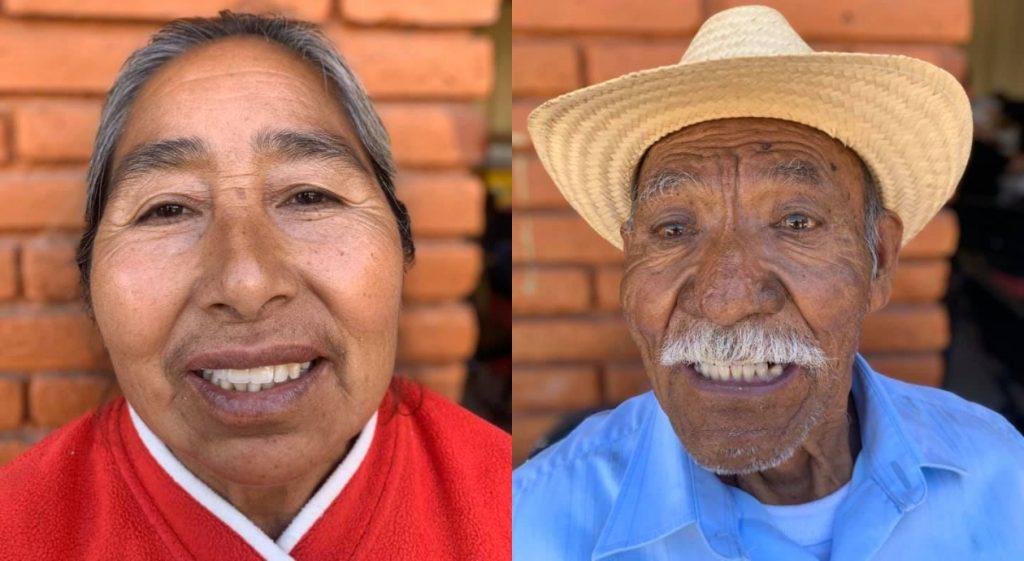 Hasta el momento han entregado 5,000 dentaduras. Foto: Rafael Medina.
