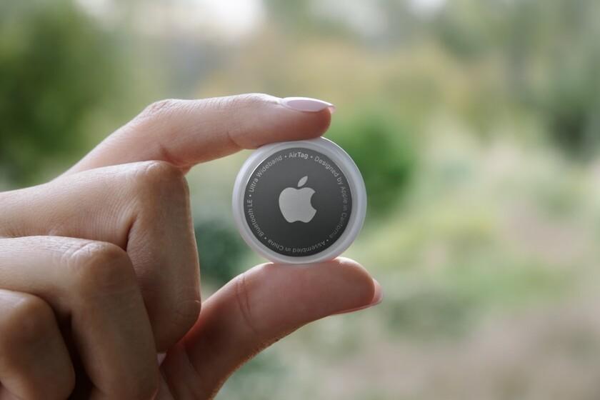 AirTags de Apple. Foto: Apple