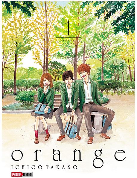 Orange es un manga japonés traducido al español. En México se vende vía Panini. Foto: tiendapanini.com.mx