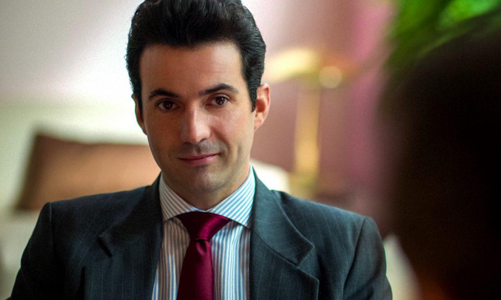 Quién es en realidad Patricio Robles, el manager de Luis Miguel, la serie 2. Foto: Netflix