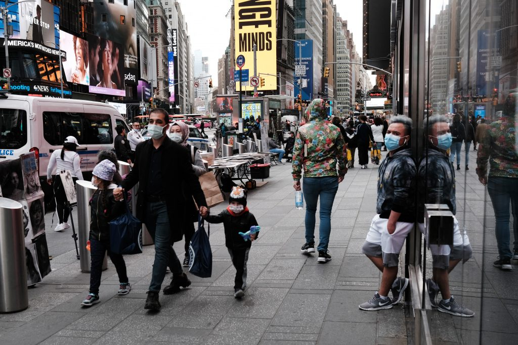 Más de 7 millones se han vacunado en Nueva York. Foto: AFP