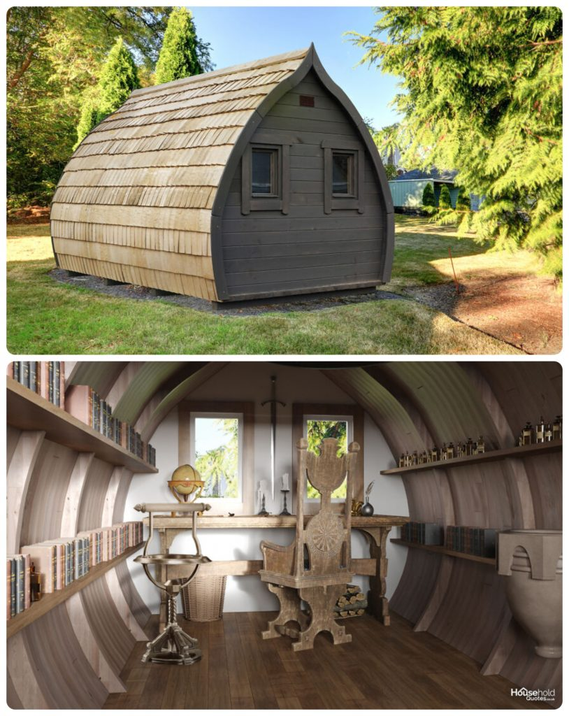 La oficina de Dumbledore sería muy acogedora. Foto: HouseholdQuotes