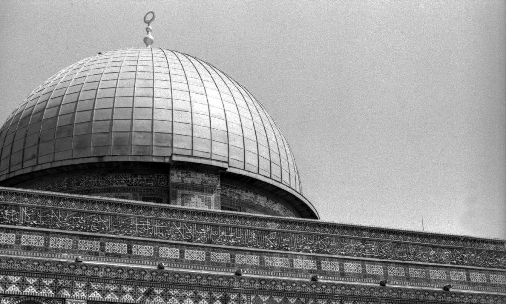 Mezquita de Al-Aqsa en la Ciudad Vieja de Jerusalén. (Foto: Paulina Estrada)
