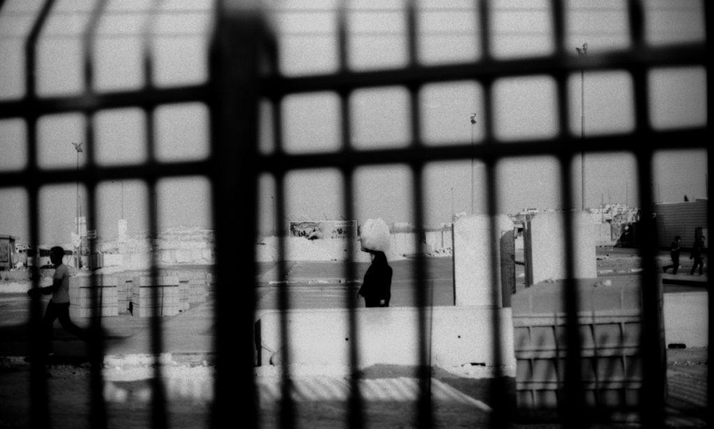 Check point de Israel en Palestina. Foto: Paulina Estrada