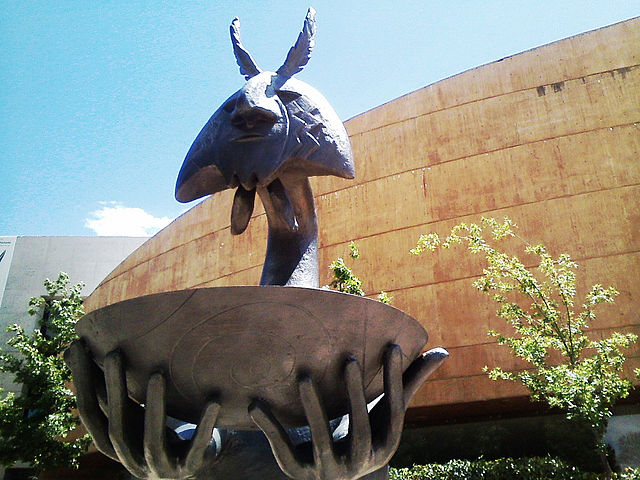 Jardín de las Esculturas del Forum Cultural Guanajuato. Foto: Wikimedia Commons