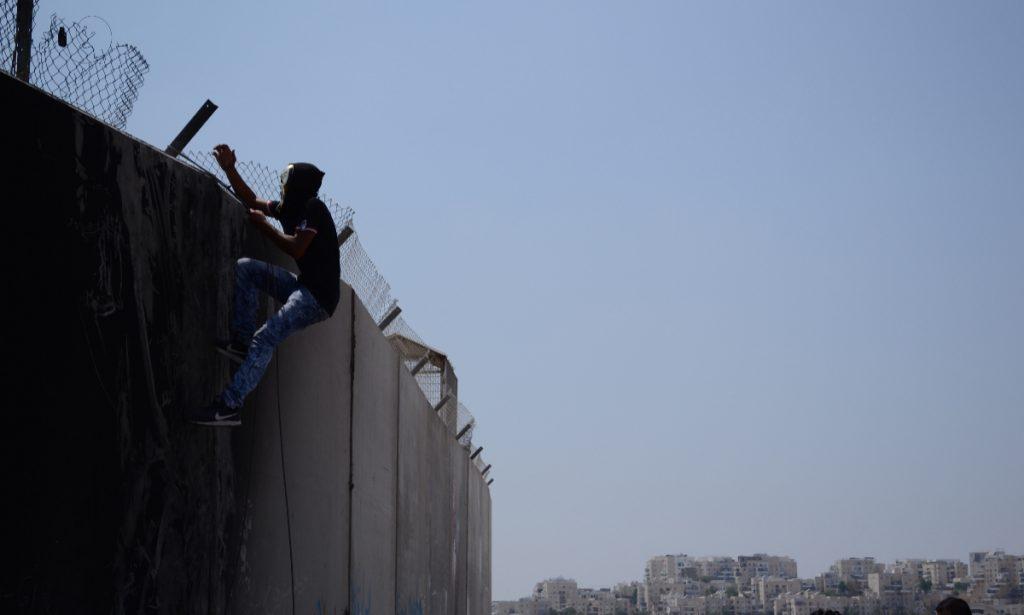 Muro de segregación en Palestina. (Foto: Paulina Estrada)