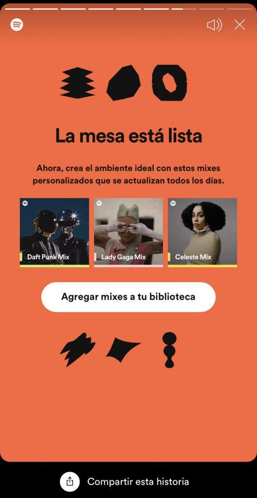 Spotify-cena-suenos-mesa-lista