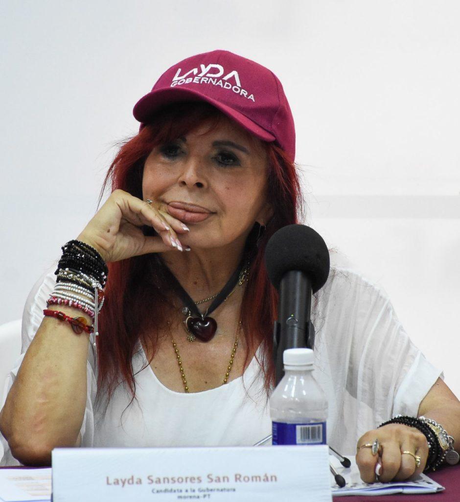 Las elecciones 2021 en Campeche son de las más cerradas y Layda Sansores va a la cabeza por un porcentaje muy corto. Foto: Michel Balam | Cuartoscuro