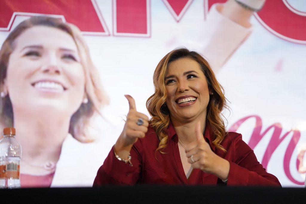 Los resultados preliminares de las elecciones en Baja California, apuntan a que Marina Ávila será la próxima gobernadora. Foto: Víctor Media | Cuartoscuro