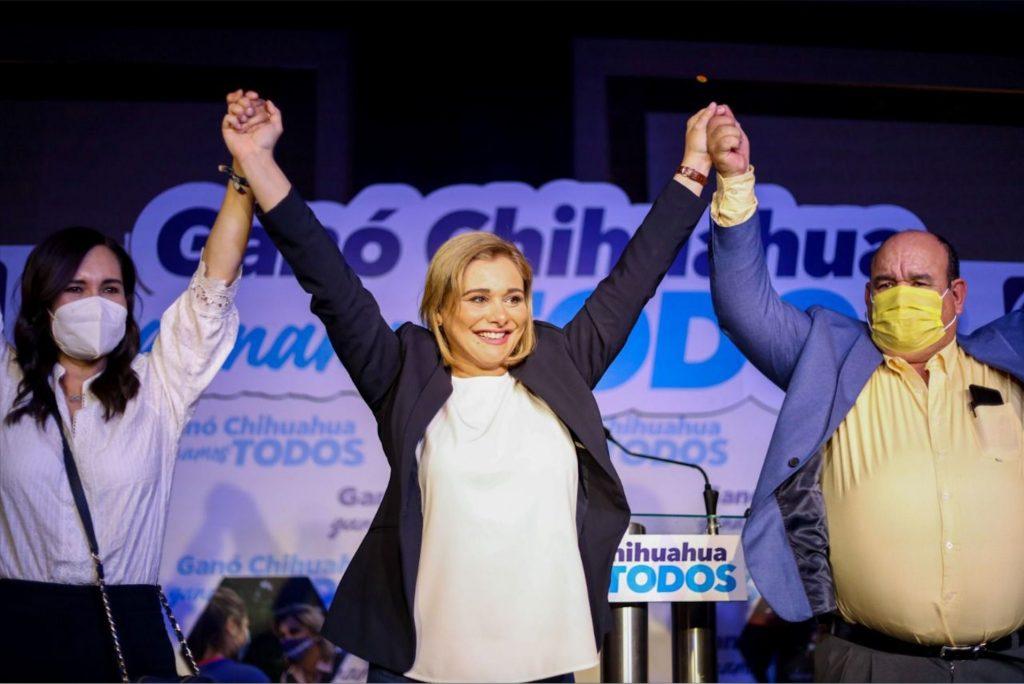 Según el PREP, Maru Campos se perfila como próxima gobernadora de Chihuahua. Foto: Cuartoscuro