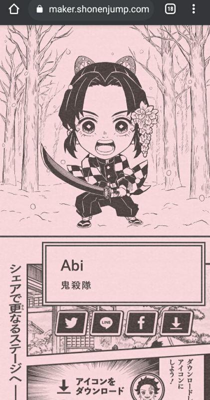 avatar kimetsu no yaiba