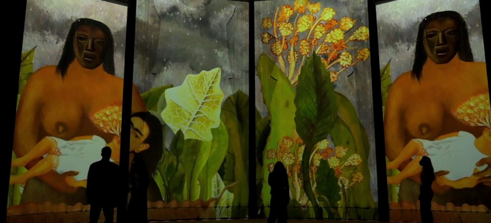 expo inmersiva frida kahlo