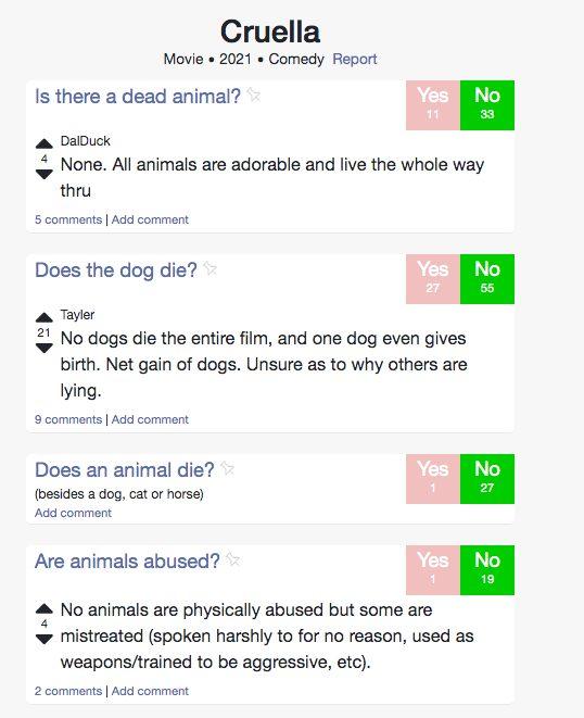 página perro muere