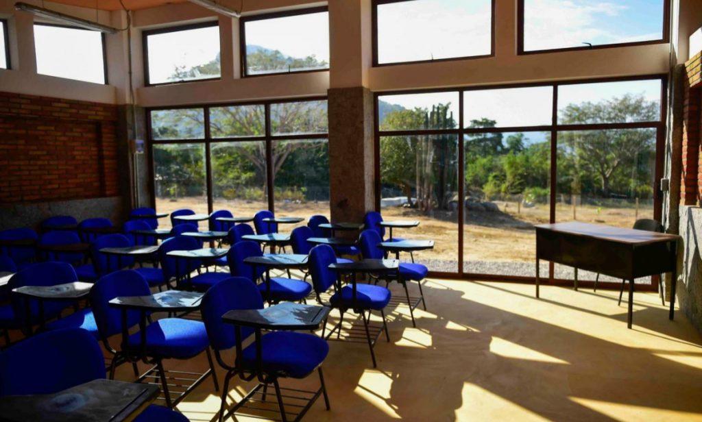 Universidad para el Bienestar Benito Juárez García en el municipio de Juan R. Escobedo, Guerrero. Foto: Archivo Cuartoscuro