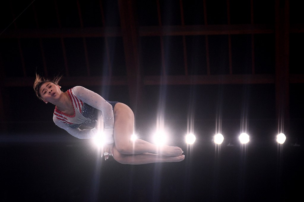 Sunisa Lee se llevó la medalla de oro en el all around de los Juegos Olímpicos. Foto: Martin Bureau | AFP