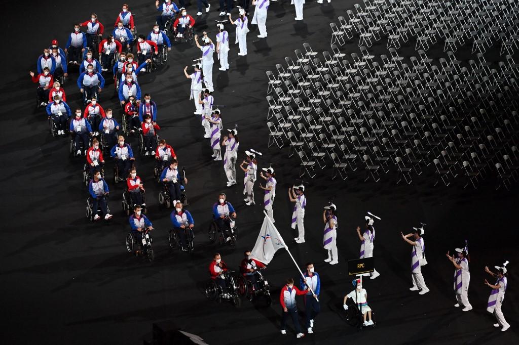 El Comité Olímpico Ruso no escuchará el himno de su país. Foto: Charly Triballeau | AFP