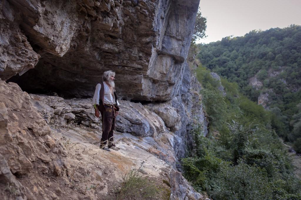 Panta Petrovic: el ermitaño que se vacunó contra covid-19. Foto: Oliver Bunic | AFP
