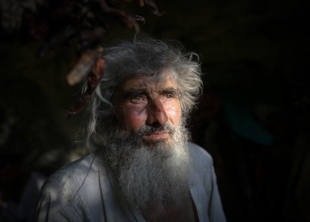 Panta Petrovic: el ermitaño de Serbia que vive en una caberna. Foto: Oliver Bunic | AFP