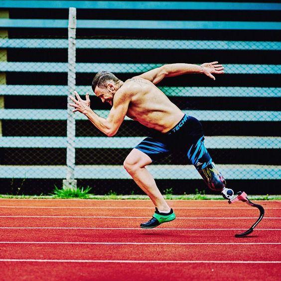 Vinicius Rodrigues, de Brasil, corredor paralímpico en Tokio 2020. Foto: Yo También
