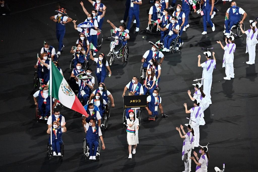 La delegación mexicana está conformada por más de 60 atletas que competirán en los Paralímpicos de Tokio 2020. Foto: Charly Triballeau | AFP