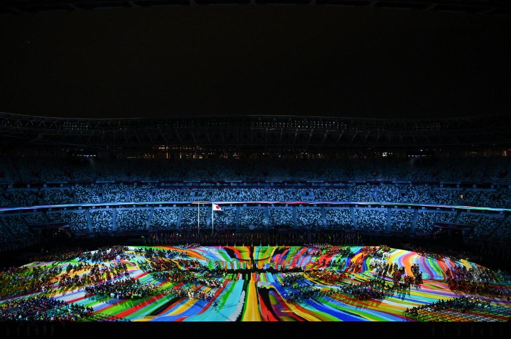 Show de inauguración de los Juegos Paralímpicos en el Estadio Olímpico de Tokio. Foto: Charly Triballeau | AFP