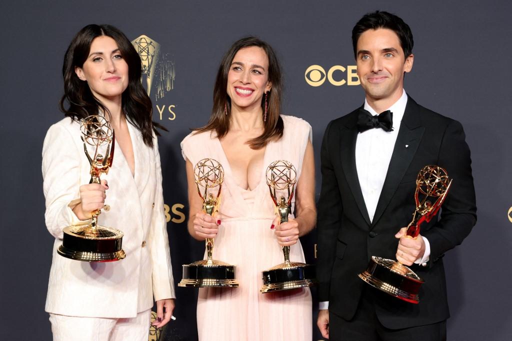 Hacks ganó Mejor guión en serie de comedia en los Emmys 2021. Foto: Rich Fury | AFP