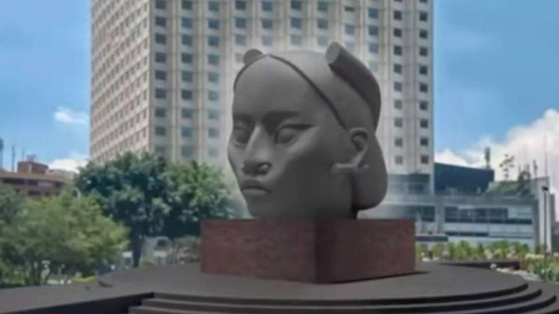 Tlali les la estatua de una mujer indígena que hará el artista Pedro Reyes. Foto: Instagram @_pedro_reyes_