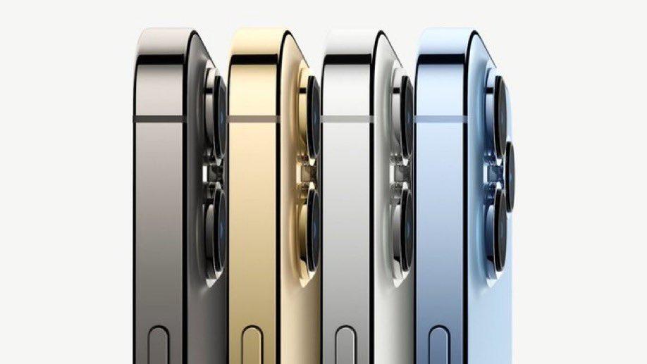 Los nuevos colores del iPhone 13 Pro