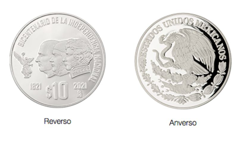 monedas conmemorativas de plata