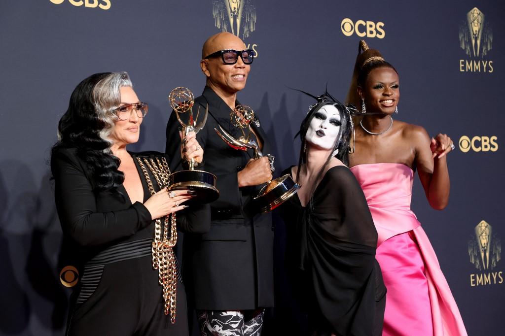 RuPaul's Drag Race ganó el Emmy. Foto: Rich Fury | AFP