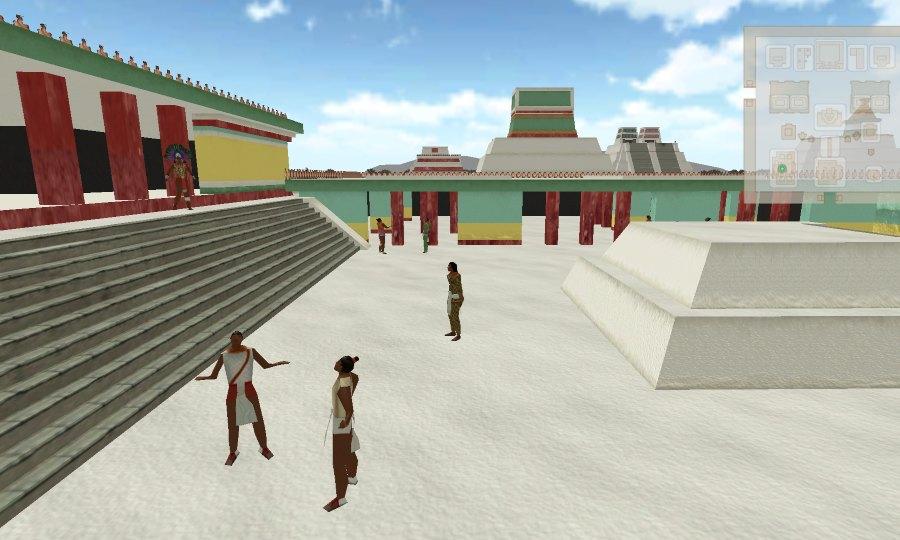 recorrido virtual por tenochtitlan